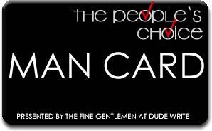 People's Choice Man Card