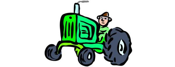 """""""Hi there, I'm Bob. I drive this here tractor. Vroom Vroom! Yeah, I'm an asshole!"""""""