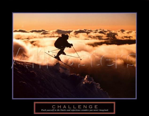 Challenge Motivational Poster