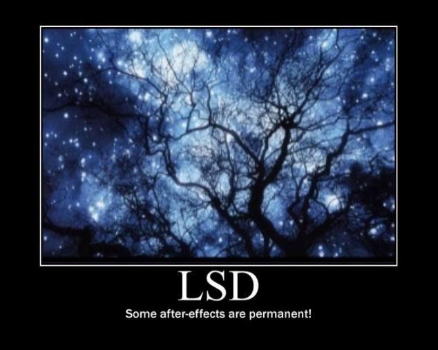 LSD Motivational Poster