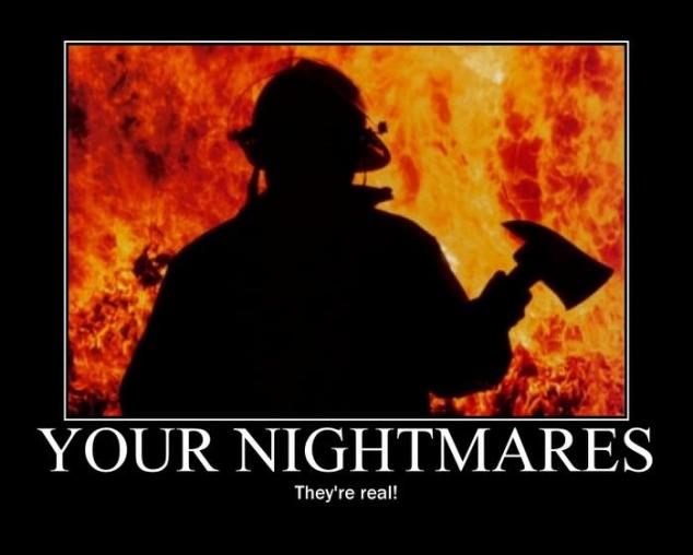Nightmares Motivational Poster