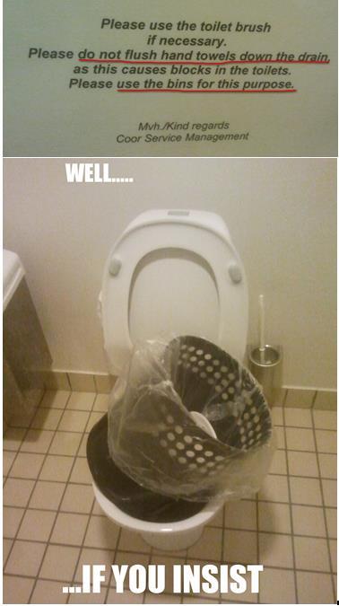Toilet Meme