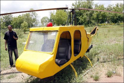 Junk Helicopter Mubarak Muhammad Abdullahi