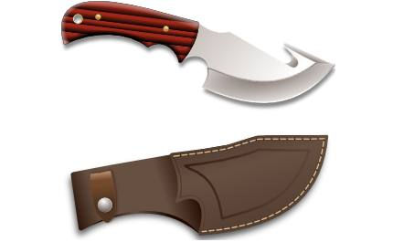 Pocket Knife With Carry Bag