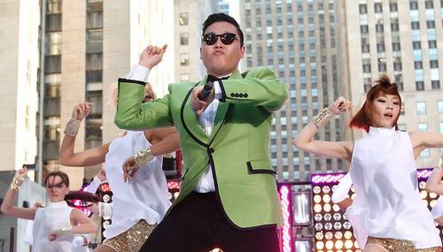 Psy Green Jacket Gangnam Style