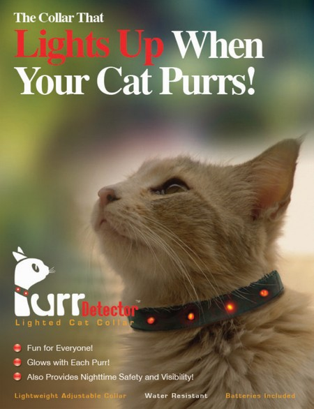 Cat Purr Detection Collar