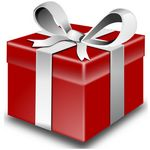 Red Gift Package
