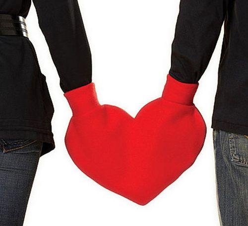 Valentine's Heart Mitten