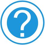 Question Mark Blue Circle