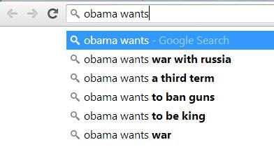 Obama wants