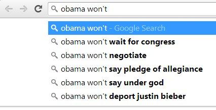 Obama won't
