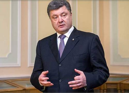 Poroshenko Black Suit