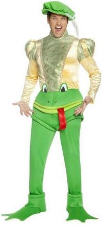 Kiss The Frog Costume Small