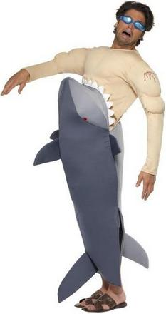 Shark Victim Suit Small