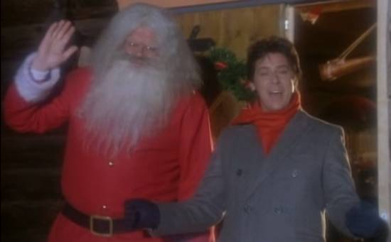 Creepy Santa Shakin Stevens
