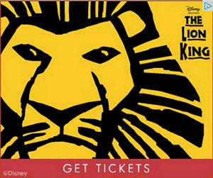 Lion King Musical Google Ad