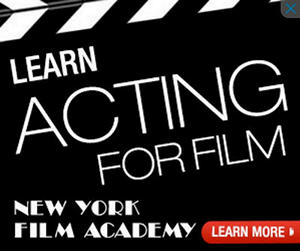 New York Film Academy Google Ad