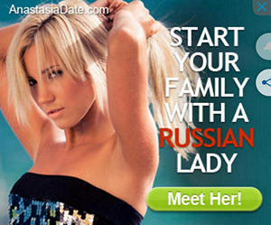 Russian Lady Google Ad