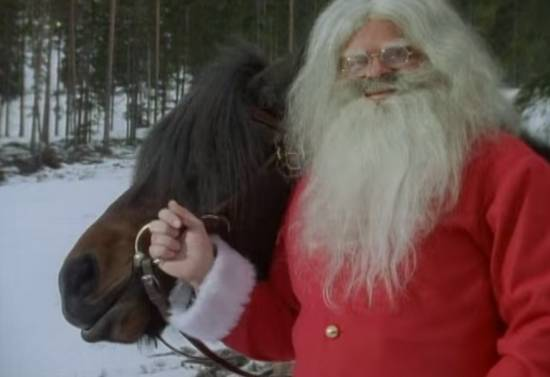 Santa With Horse