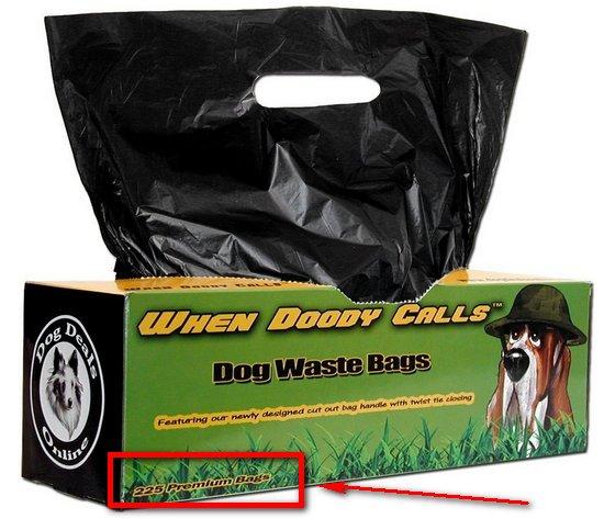 Premium Dog Waste Bags