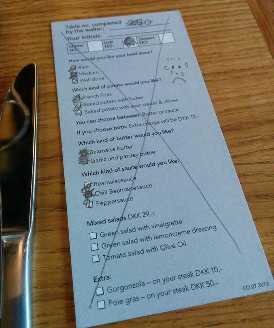 Restaurant Order Fail