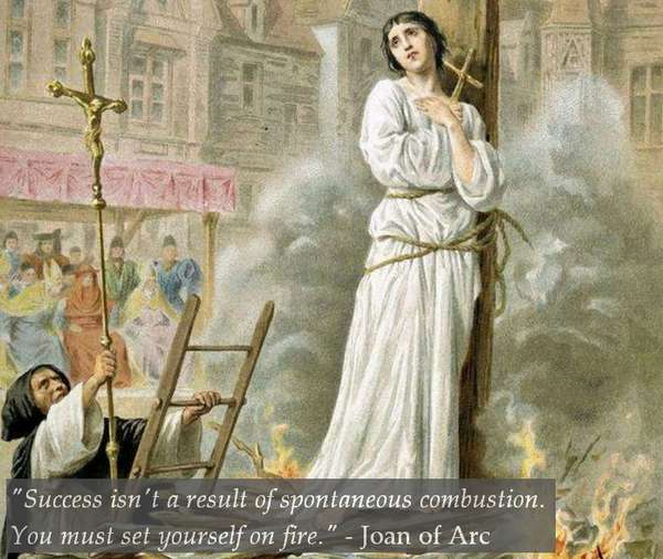 Joan of Arc Quote