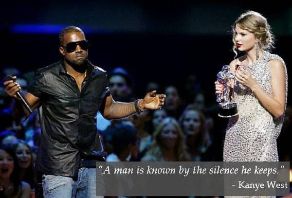 Kanye West Taylor Swift Quote