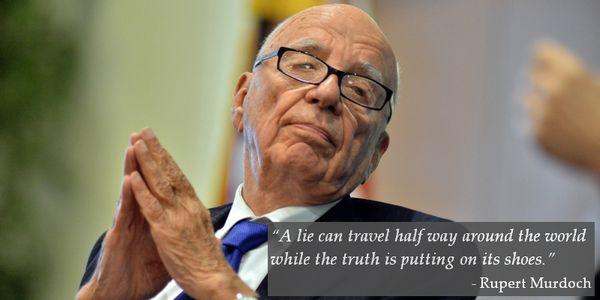 Rupert Murdoch Quote