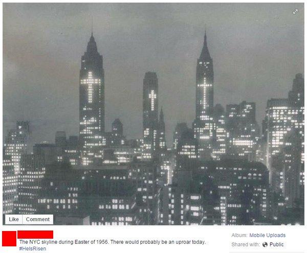 NYC Skyline 1956