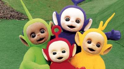 Antichrist signs: All four Teletubbies