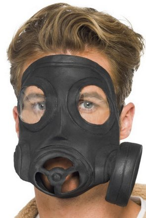 Gas mask Halloween costume