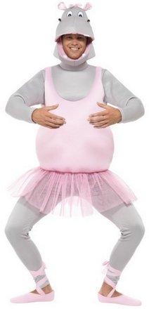 Hippo Ballerina Halloween Costume
