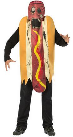 Zombie Hot Dog Halloween Costume
