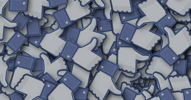 Reactions: Facebook likes lying in a pile