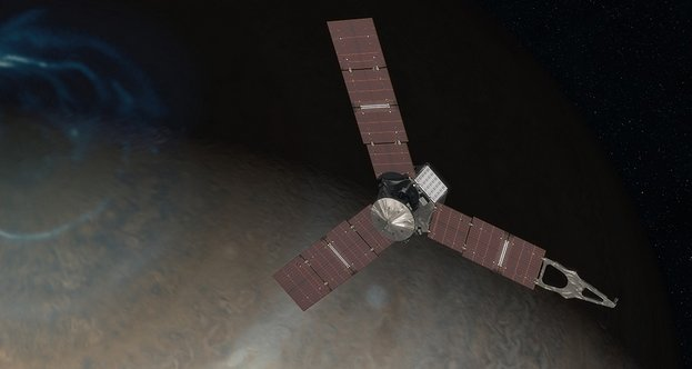 Juno Jupiter space probe